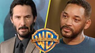 ¡Hollywood en guerra! Keanu Reeves, Will Smith y otros actores denuncian a Warner Bros.