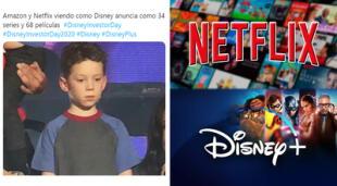 ¿La guerra del streaming? Disney+ presentó su catálogo y usuarios quieren saber más proyectos de Netflix.