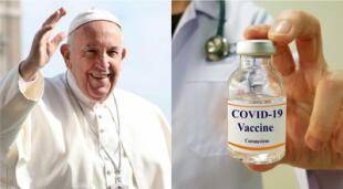 El Vaticano asegura que la aplicación de la vacuna contra el COVID-19 es aceptable y jugará un papel importante en la recuperación del mundo./Fuente: Reuters.