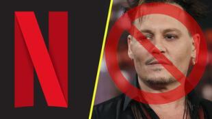 """Netflix retira todas las películas de Johnny Depp tras perder el juicio y fans empiezan un """"boicot"""""""