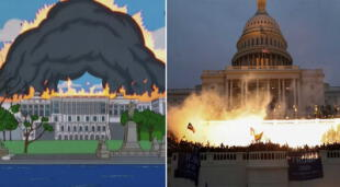 ¿Los Simpson predijeron el asalto al Capitolio de EEUU?