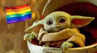 Grogu se vuelve en un representante LGBT por enojar a grupos católicos.