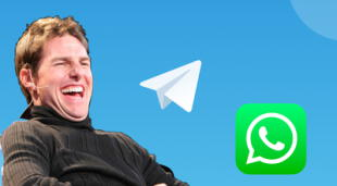 Telegram ha visto un incremento importante en su popularidad debido a la migración masiva de usuarios de WhatsApp tras su cambio de políticas./Fuente: Composición.