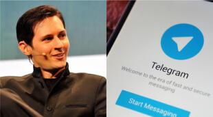 Pavel Durov, empresario ruso detrás de Telegram, ha explicado las razones por las que su aplicación ha visto un incremento tan grande de popularidad en las últimas 72 horas./Fuente: Composición.