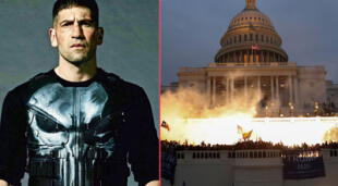 The Punisher: el antihéroe de Marvel entra en polémica por los disturbios en el Capitolio.