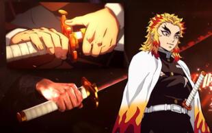 Kimetsu no Yaiba: Lanzan a la venta Espada de Rengoku que vimos en la película