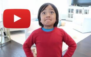 Ryan Kaji, el niño de 9 años que es el Youtuber más pagado del mundo ¿Cuál se su secreto?