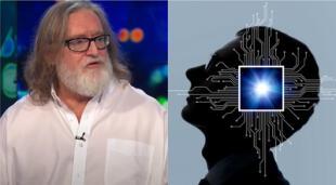 Gabe Newell brindó su visión y esperanza para el futuro de los videojuegos con una interfaz que conecte el cerebro y las computadoras./Fuente: Composición.