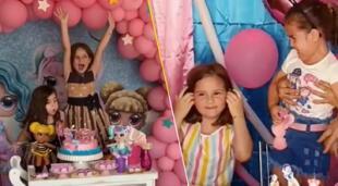 'Las niñas del pastel' vuelven a conmocionar las redes con una celebración cumpleañera.