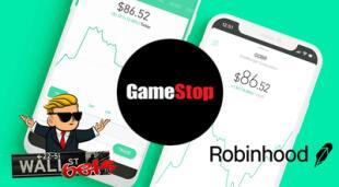 Robinhood está en el ojo de la tormenta por haber bloqueado operaciones con GameStop, Blackberry y otras compañías./Fuente: Composición.