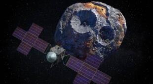 La sonda Psyche apunta a estar lista a mediados de 2022 para poder visitar el asteroide que vale 10 veces la economía mundial./Fuente: NASA.