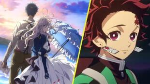 ¡Aunque no lo creas! Violet Evergarden le gana a Kimetsu no Yaiba como la 'Mejor Película del 2020'