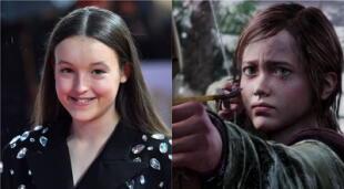 La actriz juvenil que interpretó a Lyanna Mormont en Game of Thrones será la encargada del papel de Ellie en la serie de The Last of Us./Fuente: Composición.