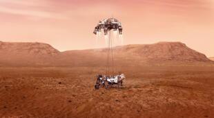 El trascendental aterrizaje de Perseverance en la superficie de Marte decidirá el rumbo de la exploración espacial./Fuente: NASA.