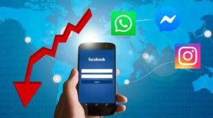 Facebook, Instagram y WhatsApp se caen en todo el mundo.