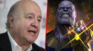 El 'Movimiento Jóvenes con Hernando de Soto' recrea escena de Thanos con el candidato.