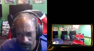 El conocido rapero Snoop Dogg fue hizo un rage quit mientras jugaba a Madden 21 en su Xbox durante stream y se retiró sin apagarlo por más de 7 horas./Fuente: Twitch.