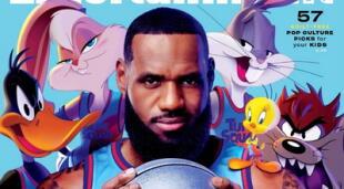 LeBron James se unirá con Bugs Bunny, el Pato Lucas, Lola Bunny y el resto de la pandilla de los Looney Tunes para cargar con el legado del clásico de 1996 en Space Jam: A New Legacy./Fuente: Entertainment Weekly.
