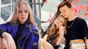 Indignación en Ucrania por las fotos de una niña bloguera y su novio adolescente.