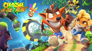 Crash Bandicoot: On the Run ya puede ser descargado en las tiendas digitales para smartphones iOS y Android./Fuente: King.