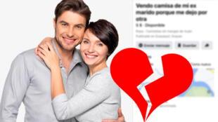 Vende la ropa de su ex infiel en Facebook y publicación se vuelve viral en redes