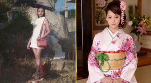 Modelo pisotea el obi en una campaña para Valentina y causa indignación en la red.