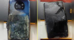 Smartphone de la marca Poco X3 explota al cargarse y empresa niega fallas.