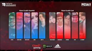 Team Claro CAR fue el ganador del showmatch de influencers Claro gaming.