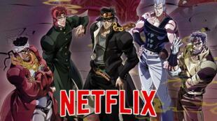 """Jotaro Kujo y los demás """"Crusaders"""" llegan próximamente a Netflix Latinoamérica"""
