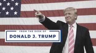 From the Desk of Donald J. Trump es la respuesta del ex presidente ante su suspensión en Facebook, Instagram y Twitter./Fuente: El Horizonte.