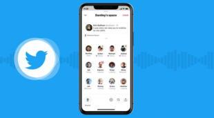 Twitter Spaces intenta replicar el éxito de Clubhouse con la creación de salas de audio para audiencias de seguidores de un creador de contenido./Fuente: Twitter.