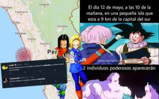 Dragon Ball: Peruanos toman con humor sismo que coincidió con la llegada de los androides