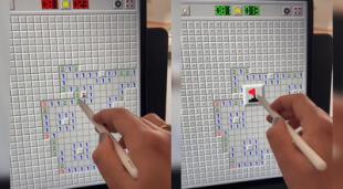 Usuaria de Tiktok explica el truco detrás del juego Buscaminas para ganar.