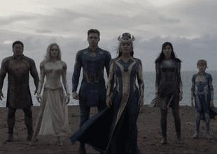 Eternals se estrenará en las salas de cine en noviembre de 2021./Fuente: Marvel Studios.
