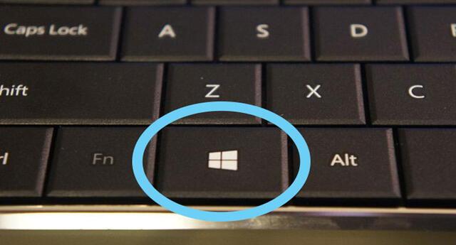 ¿Qué es lo que puedes hacer con el botón de Windows?