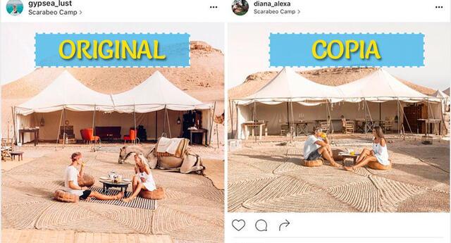 Blogueros denuncian que una pareja sigue sus pasos alrededor del mundo (FOTOS)