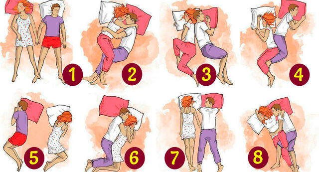 La posición en la que duermes con tu pareja revelaría cómo es su relación amorosa