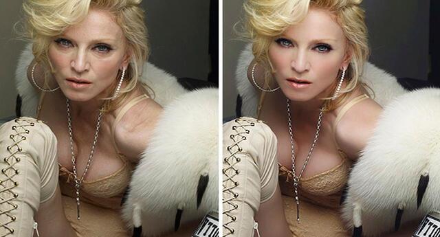 El antes y después de 7 celebridades, así lucen sin Photoshop