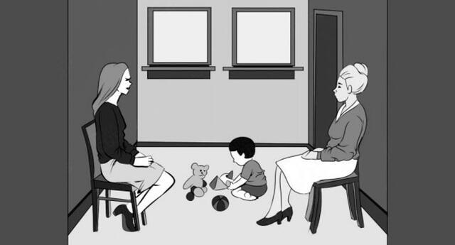 Descubre quién es la madre del niño y demuestra tu habilidad
