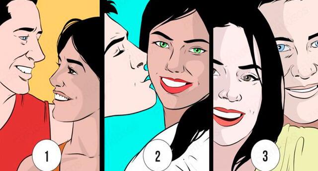 Elige a la pareja más feliz, y sorpréndete con tus resultados