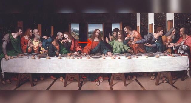 """El mensaje oculto en """"La última cena"""" de Leonardo Da Vinci conmociona al mundo del arte"""