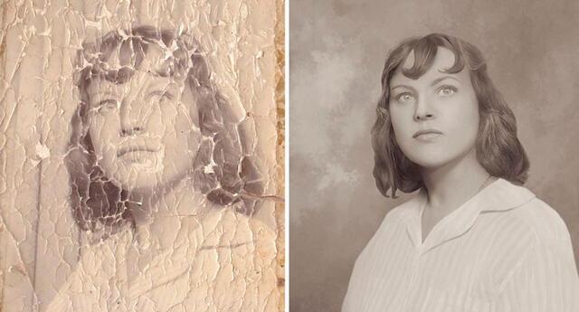 ¿Cómo restaurar una fotografía antigua? 8 trabajos que te dejarán sorprendido