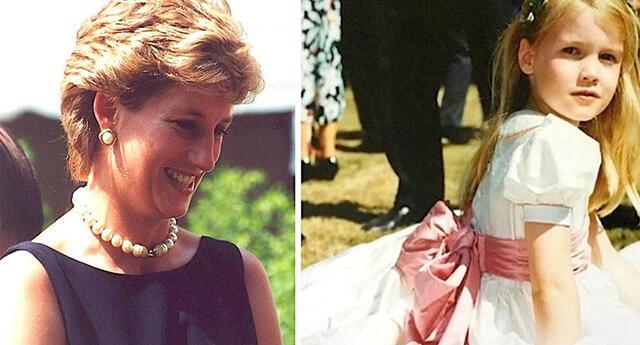 ¿Se parecen? La sobrina de Lady Di creció y muchos dicen que es el vivo retrato de la princesa