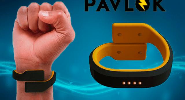 Nueva pulsera que corrige los malos hábitos.