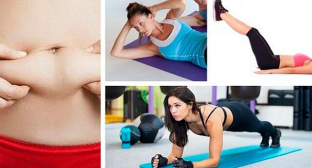 Olvídate de la grasa abdominal con estos 7 ejercicios sencillos