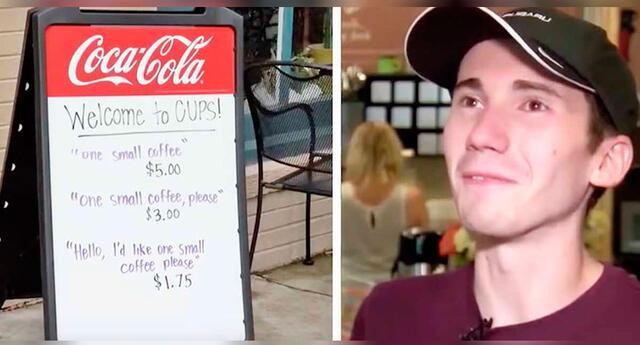 Viral: Peculiares frases en cafetería buscan combatir a clientes groseros