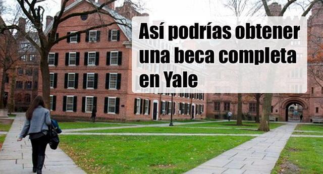 ¿Sueñas con estudiar en Yale?