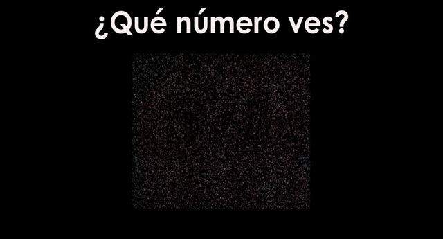 ¿Puedes visualizar el número escondido? Pon a prueba tu vista