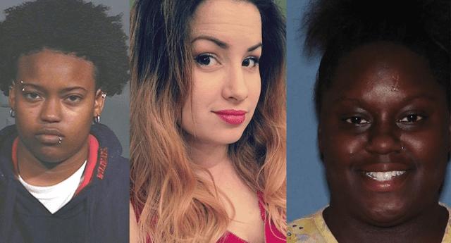 Las tres mujeres fueron arrestadas por la Policía de la zona.