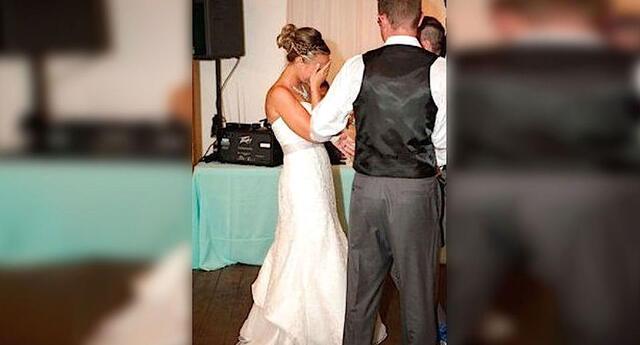 En el día de su boda, él hizo llorar a su novia con este hermoso gesto